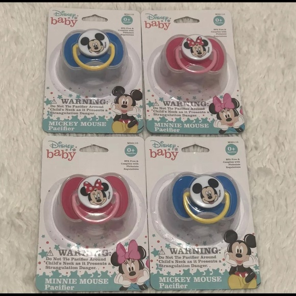 6 Pacifiers